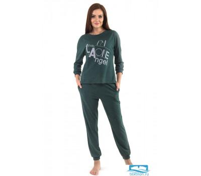Комплект женский КТК-4511 пихтово-зелёный 50