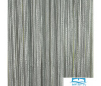 Нитевой занавес 'Серебро' 300 х 285, C150 Серый+серебро