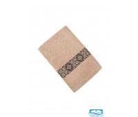 ЭЛИЗА 30*70 бежевое полотенце махровое