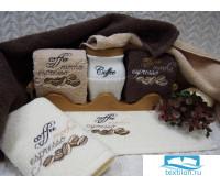 ЭСПРЕССО 40*60 молочное полотенце хлопок 100% 420 гр/кв.м