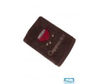 ЭСПРЕССО 40*60 темно-коричневое полотенце хлопок 100% 420
