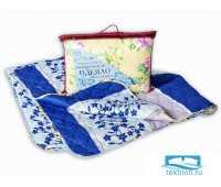 Одеяло 'Файбер' стеганое облегч. п/э 105*140 (плотность