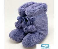 H260/2 Сапожки домашние «Froggy» пурпурные 40