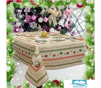 VINGI RICAMI Скатерть гобелен  МАДРИД-НГ-В(пакет) 140*240