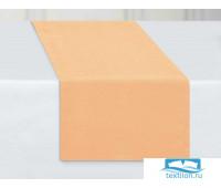 ДС-Перс-40-140 Дорожка столовая рогожка цвет: Персиковый 40х140