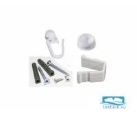Монтажный комплект для однорядной шины 3,2м, пластик, 10022320