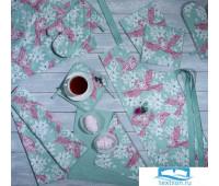 НКОриг-Ф80-ПВП Набор кухонный «Оригами» Фартук, Прихватка