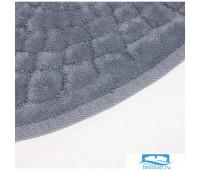 Набор ковриков для ванной Карвен 'OVAL GIRDAP' KV 113 серый