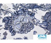 Скатерть гобелен 'Grandes fleurs' диаметр 110 см