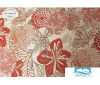 Скатерть гобелен 'Fleurs vector' диаметр 130 см