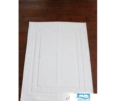 Коврик универсальный, р-р: 65 х 90см, цвет: белый