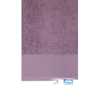 Полотенце 'JOY' р-р: 100x 150см, цвет: лиловый