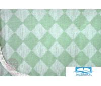 Плед детский 'LUX 3313', р-р:100х150см, цвет: зеленый