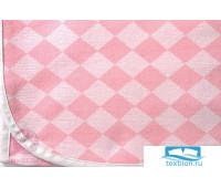 Плед детский 'LUX 3313', р-р:100х150см, цвет: розовый