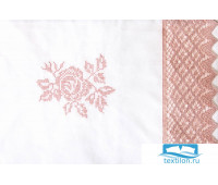 Чехол для бампера 'ROSE', р-р: 45x390см, цвет: белый/розовый