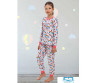 Пижама 'Малышка' р.76(134-140) интерлок100% хлопок
