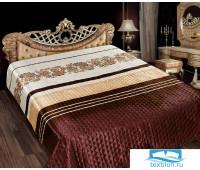 Одеяло - покрывало шелк GOLD 220х240 Оникс, шт