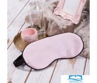 Шелковая Маска для сна Цвет: Розовый