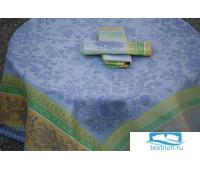 Скатерть LENCERA арт.Cotignac blue разм.160x250