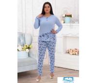 Мила пижама р.52 кулирка (100% хлопок)