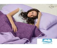 Набор Multi Set Одеяло-покрывало 'Multi Blanket' Sleep iX 240x220 Ткань: Фиолетовый, Мех: Фиолетовый + простыня 230x240 и две наволочки 50х70