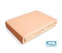 Простынь трикотажная на резинке Baby-Ol-tex 60х120 (Персиковый)