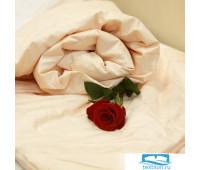Одеяло Элит, 172х205, 1 кг персиковый