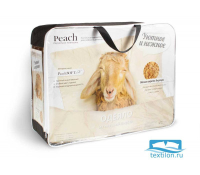 Одеяло PEACH Sheep wool 200х220 Теплое