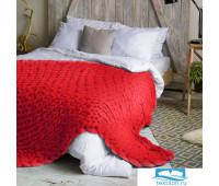 Толстая пряжа Hygge Dome (100% шерсть) 260х200 Красный