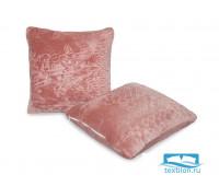 Шарм(чайная роза) подушка файбер велсофт 40*40