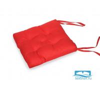 Подушка для стула 35*35 бязь (красный)