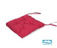 Подушка для стула 35*35 бязь(малина)