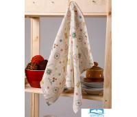 Полотенце кухонное Мари Санна Праздник 9352-1 Рогожка 73х45