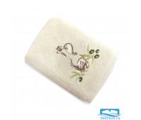 ПРИМА 40*60 молочное полотенце хлопок 100% 420 гр/кв.м