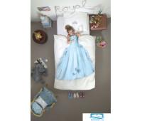 Принцесса снежно-голубой 150х200см