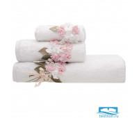 ПРОВАНС 70*140 белое полотенце махровое