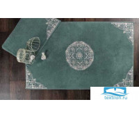 Набор ковриков для ванной с аппликацией и кружевами 'QUEN' KV