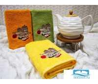 ШАРЛОТТА 40*60 желтое полотенце хлопок 100% 420 гр/кв.м