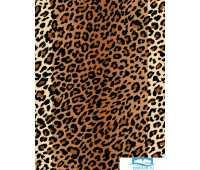 Шторы для ванной: Шкура леопарда