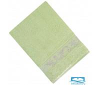 ШАНТАЛЬ 70*140 зеленое   полотенце махровое