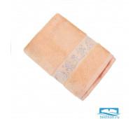 ШАНТАЛЬ 70*140 персик   полотенце махровое