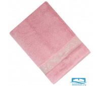 ШАНТАЛЬ 70*140 пр. малина   полотенце махровое