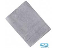 ШАНТАЛЬ 70*140 св-серое   полотенце махровое